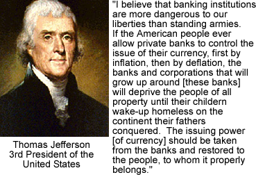 Thomas Jefferson Money Quote