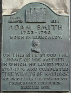Adam Smith Plaque