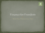 Finance for Freedom Video